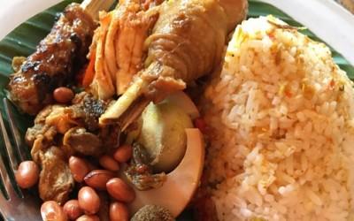 Nasi Ayam Kedewatan Ubud Ibu Mangku