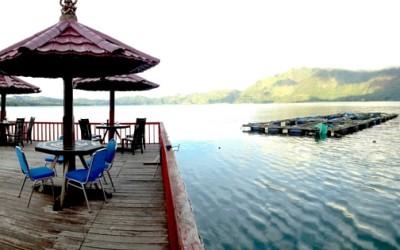 Resto Apung Kintamani Danau Batur Bali