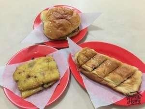 Roti bakar Sumatra di Palembang