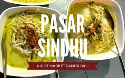 Pasar Sindhu Night Market Sanur