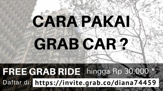 Cara Menggunakan Uber Grab Taxi