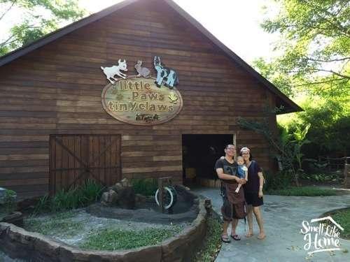 Petting Zoo Bali Safari Marine Park