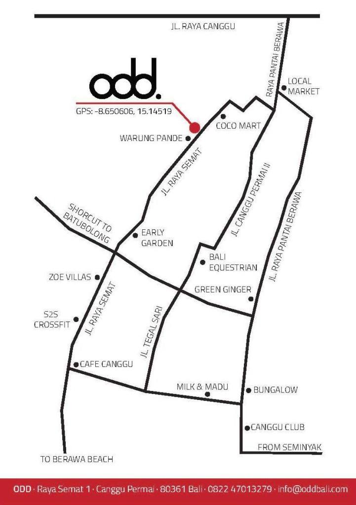 Odd Map