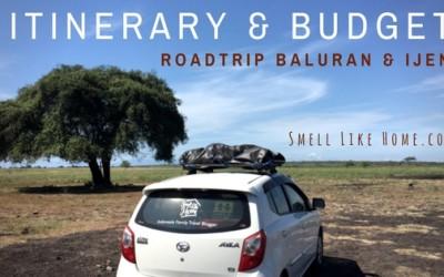 itinerary budget roadtrip baluran ijen