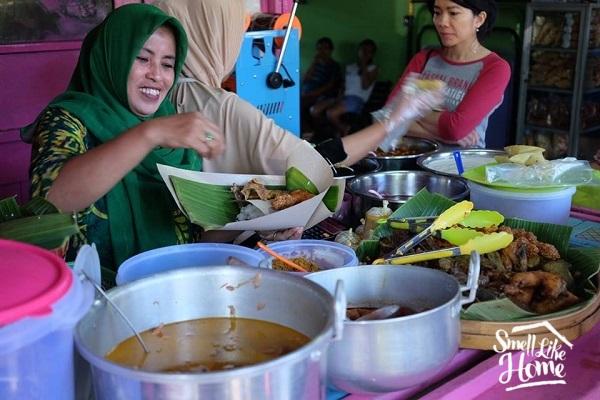 Nasi Buk Madura di Pasar Oro-Oro Dowo