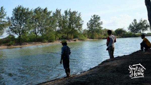 Memancing di Pulau Serangan