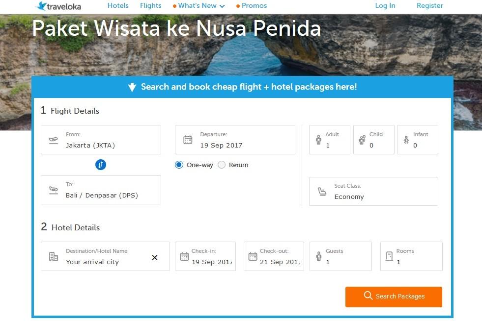 Paket Wisata ke Nusa Penida