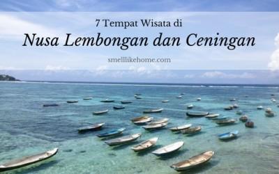 Tempat Wisata Nusa Lembongan dan Ceningan