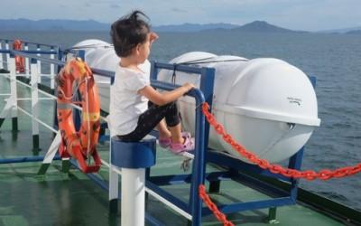 Penyeberangan Ferry dari Sape ke Labuan Bajo