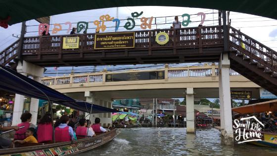 Suasana Amphawa Floating Market