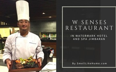 W Senses Bali Restaurant Review