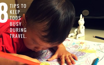 How to Keep Toddlers Busy during Traveling