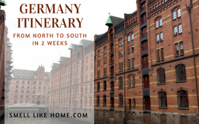 Germany Itinerary in 2 Weeks from North to South