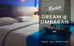 Review Hotel Dream @ Jimbaran