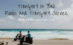 Public Transport Bali and Transport Service