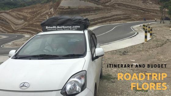 Itinerary Budget Roadtrip Flores