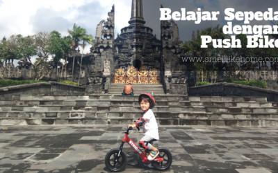 Belajar Sepeda dengan Push Bike