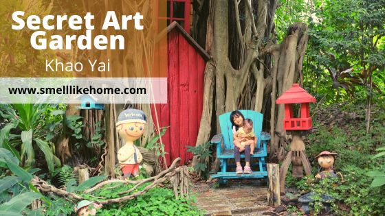 Review Secret Art Garden Khao Yai
