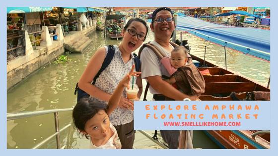 Explore Amphawa Floating Market