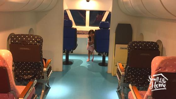 Simulasi Pesawat Terbang di Children's Discovery Museum Bangkok