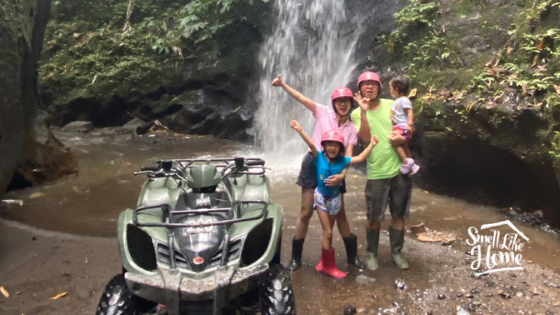 Suasana Bermain ATV di Ubud Gianyar