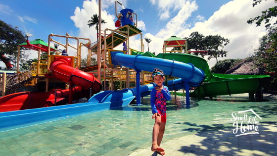 Wahana Waterbom Bali Funtastic Kids Zone