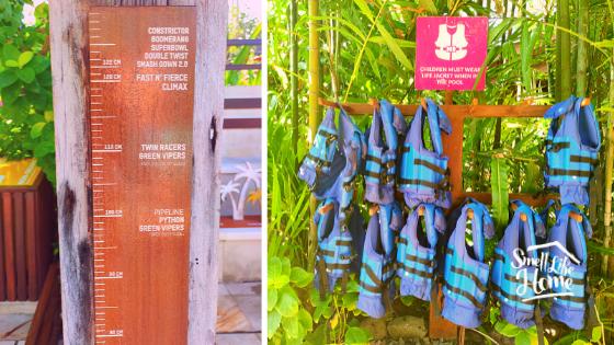 Waterbom Bali Pelampung Anak dan Ukuran Tinggi